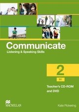Communicate Listening & Speaking Skills 2 (B1) Teacher's CD-ROM and DVD Pack ISBN: 9780230440326