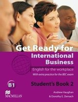 Get Ready for International Business 2 (BEC Edition) Student's Book ISBN: 9780230447905