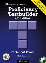 Proficiency (CPE) Testbuilder (4th Edition) Student's Book with Key & Audio CD & Macmillan Practice Online ISBN: 9780230452732