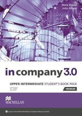 In Company 3.0 Upper Intermediate Student's Book Pack ISBN: 9780230455351