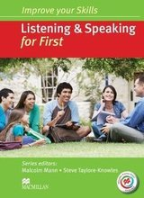 Improve Your Skills for First (FCE) Listening & Speaking Student's Book without Key with Macmillan Practice Online ISBN: 9780230462816