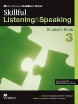 Skillful 3 (Upper Intermediate) Listening and Speaking Student's Book with Internet Access Code ISBN: 9780230495760