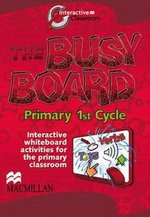 Busy Board Level 1 Interactive Whiteboard Software (IWB) CD-ROM ISBN: 9780230729858
