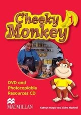 Cheeky Monkey 1 DVD & Photocopiables CD-ROM ISBN: 9780230730588