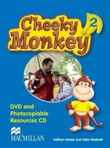 Cheeky Monkey 2 DVD & Photocopiables CD-ROM ISBN: 9780230730595