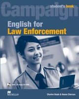 English for Law Enforcement Student's Book with CD-ROM ISBN: 9780230732582