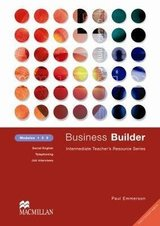 Business Builder 1-3 Photocopiable Teacher's Resource Book ISBN: 9780333990940