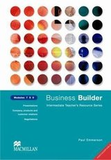 Business Builder 7-9 Photocopiable Teacher's Resource Book ISBN: 9780333990964