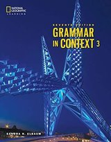Grammar in Context (7th Edition) 3 Student's Book ISBN: 9780357140253