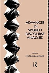 Advances in Spoken Discourse Analysis ISBN: 9780415066877