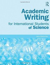 Academic Writing for International Students of Science ISBN: 9780415832410