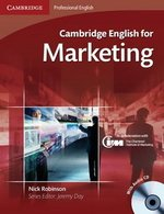 Cambridge English for Marketing Student's Book with Audio CDs (2) ISBN: 9780521124607