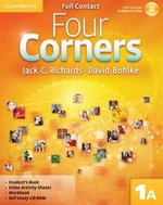 Four Corners 1 (Split Edition) Full Contact A with Self-Study CD-ROM ISBN: 9780521126267