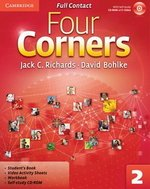 Four Corners 2 Full Contact (Student's Book, Workbook & Video Activity Sheets) with Self-Study CD-ROM ISBN: 9780521126748