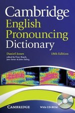 Cambridge English Pronouncing Dictionary (18th Edition) with CD-ROM (Paperback) ISBN: 9780521152556