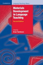 Materials Development in Language Teaching (2nd Edition) ISBN: 9780521157049