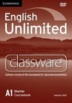 English Unlimited Starter Classware DVD-ROM ISBN: 9780521157209
