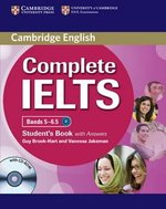 Complete IELTS Bands 5-6.5 Student's Pack (Student's Book with Answers & CD-ROM & Class Audio CDs (2)) ISBN: 9780521179539