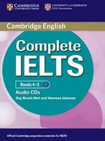 Complete IELTS Bands 4-5 Class Audio CDs (2) ISBN: 9780521179584