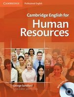 Cambridge English for Human Resources Intermediate - Upper Intermediate Student's Book with Audio CDs (2) ISBN: 9780521184694
