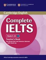 Complete IELTS Bands 5-6.5 Teacher's Book ISBN: 9780521185165