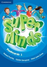 Super Minds 1 Flashcards (Pack of 103) ISBN: 9780521220262