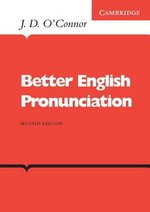 Better English Pronunciation Book ISBN: 9780521231527