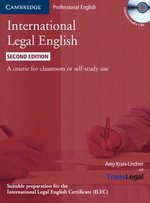 International Legal English (2nd Edition) Student's Book with Audio CDs (3) ISBN: 9780521279451