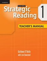 Strategic Reading (2nd Edition) 1 Teacher's Manual ISBN: 9780521281140