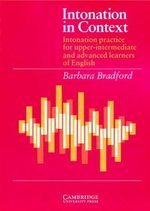 Intonation in Context Student's Book ISBN: 9780521319140