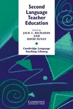 Second Language Teacher Education ISBN: 9780521387798