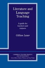 Literature and Language Teaching ISBN: 9780521406512
