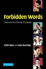 Forbidden Words (Paperback) ISBN: 9780521525640