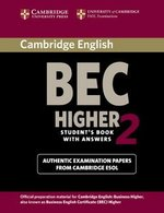Cambridge BEC Higher 2 Student's Book with Answers ISBN: 9780521544580