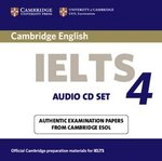 Cambridge English: IELTS 4 Audio CDs (2) ISBN: 9780521544658