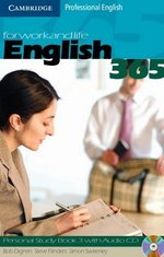 English 365 Level 3 Personal Study Book with Audio CD ISBN: 9780521549189