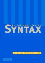 An Introduction to Syntax ISBN: 9780521635660
