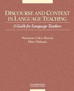 Discourse and Context in Language Teaching ISBN: 9780521648370