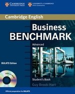 Business Benchmark Advanced Student's Book with CD-ROM BULATS Edition ISBN: 9780521672948