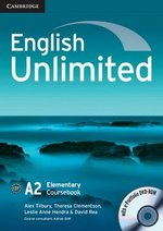 English Unlimited Elementary Coursebook with e-Portfolio ISBN: 9780521697729