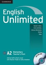 English Unlimited Elementary Teacher's Book with DVD-ROM ISBN: 9780521697767