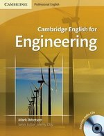 Cambridge English for Engineering Student's Book with Audio CDs (2) ISBN: 9780521715188