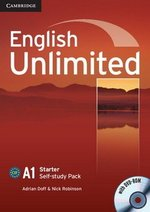 English Unlimited Starter Workbook with DVD-ROM ISBN: 9780521726344