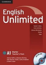 English Unlimited Starter Teacher's Book with DVD-ROM ISBN: 9780521726382