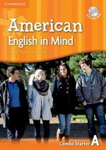 American English in Mind Starter Combo A (Split Edition - Student's Book & Workbook) with DVD-ROM ISBN: 9780521733243