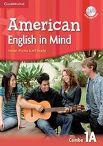 American English in Mind 1 Combo A (Split Edition - Student's Book & Workbook) with DVD-ROM ISBN: 9780521733342
