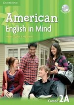 American English in Mind 2 Combo A (Split Edition - Student's Book & Workbook) with DVD-ROM ISBN: 9780521733458