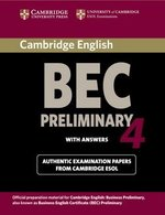 Cambridge BEC Preliminary 4 Student's Book with Answers ISBN: 9780521739238