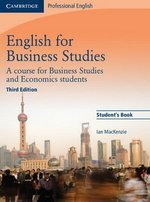 English for Business Studies (3rd Edition) Student's Book ISBN: 9780521743419
