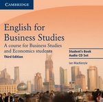 English for Business Studies (3rd Edition) Audio CDs (2) ISBN: 9780521743433